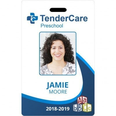 TenderCare Preschool ID card
