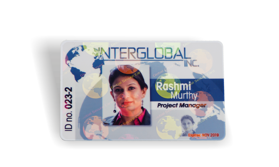 General holograph id card