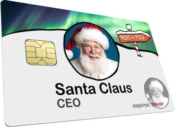Santa Claus ID Card