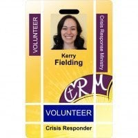 Crisis response ministry id card