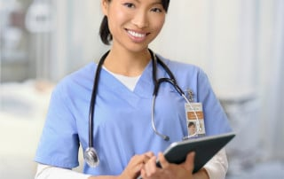ID badges for medical professionals