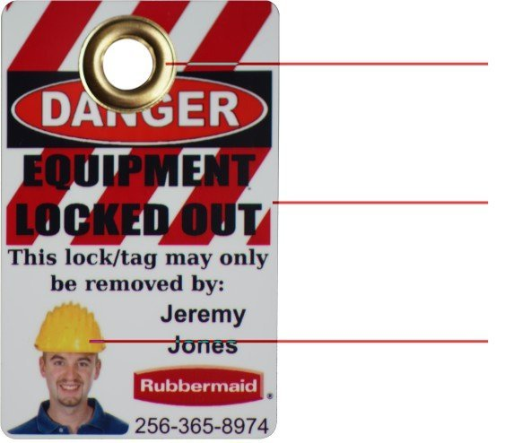 Lockout/Tagout features