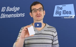 ID Badge Dimensions Video