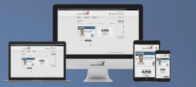 Create ID badges using any device