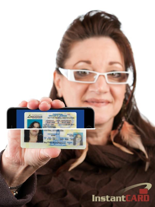 LA Wallet Drivers License