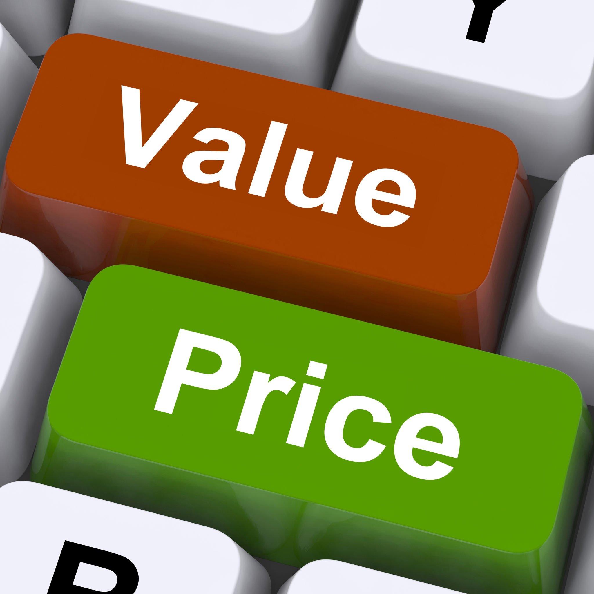 Value vs. Price