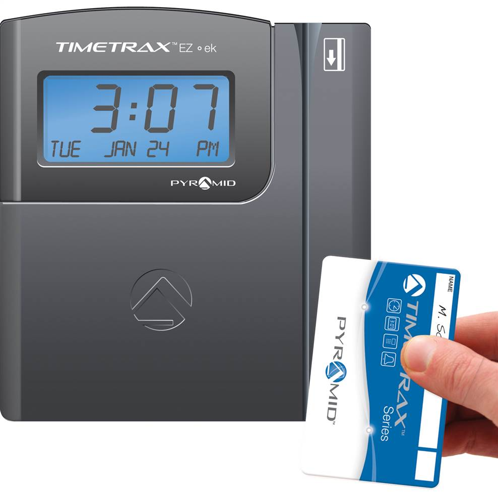 time clock card swipe