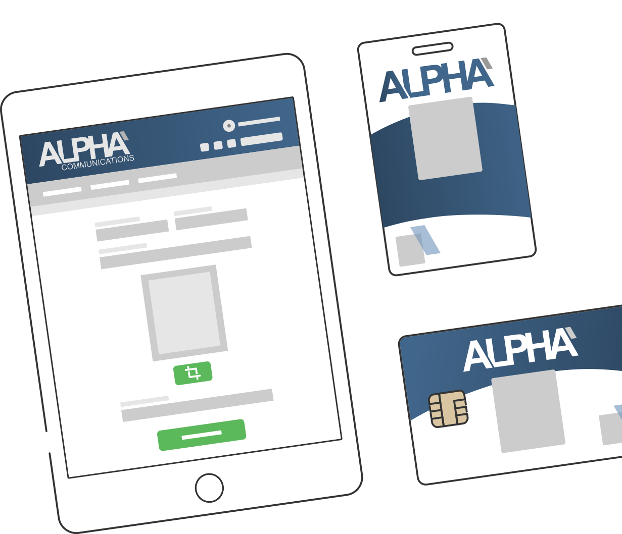 ID badge ordering Web Services