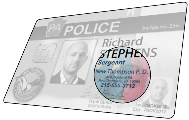 Police ID Security: Contact Information