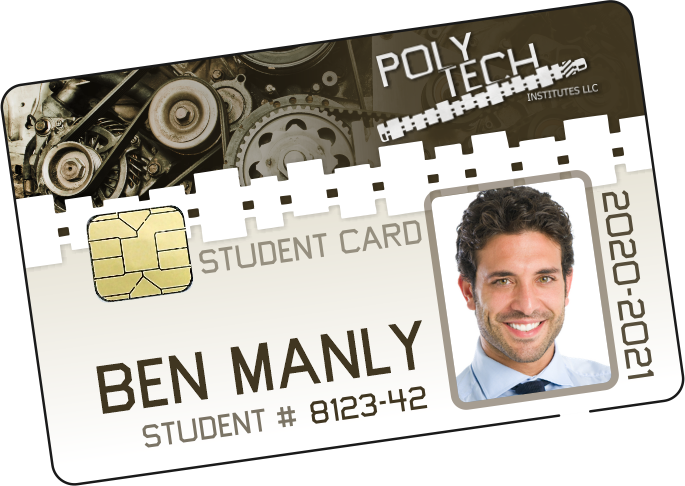 High school ID Card in wallet