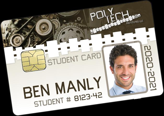 High school ID Card in wallet
