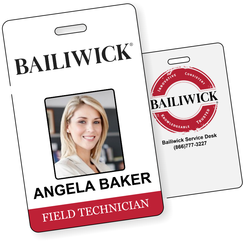 BAILIWICK ID Cards