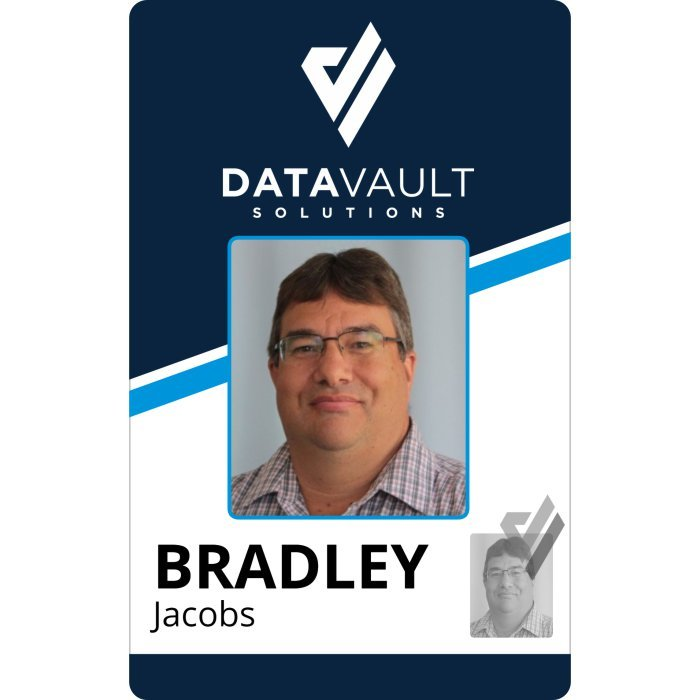 Data Vault Soltuions Employee ID Badge