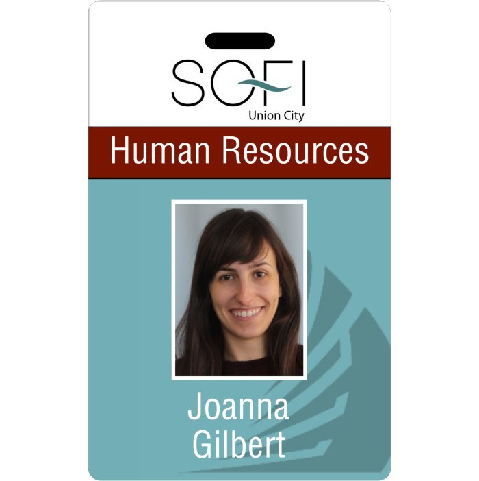 SOFI Employee ID Badge