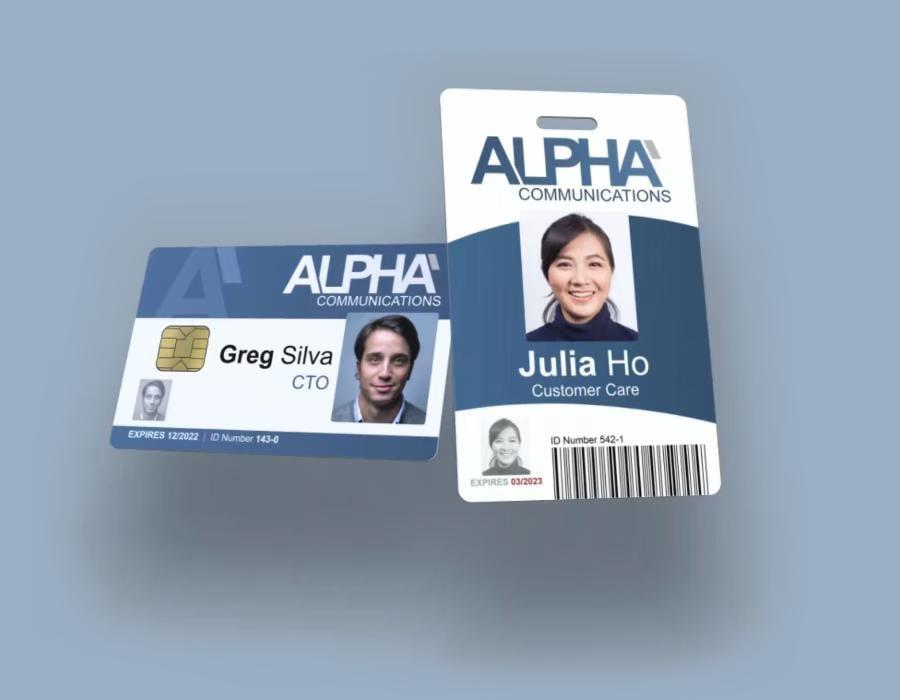 Alpha ID Cards