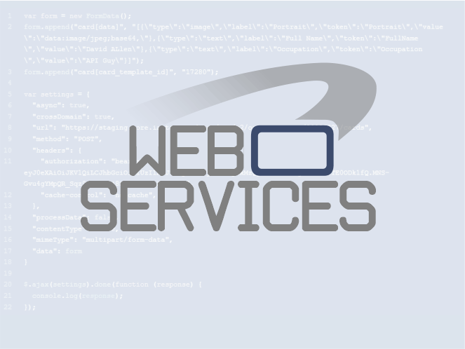 Access our ID Card web services