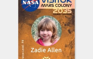 MArs Novelty ID Card from Doppelbadger