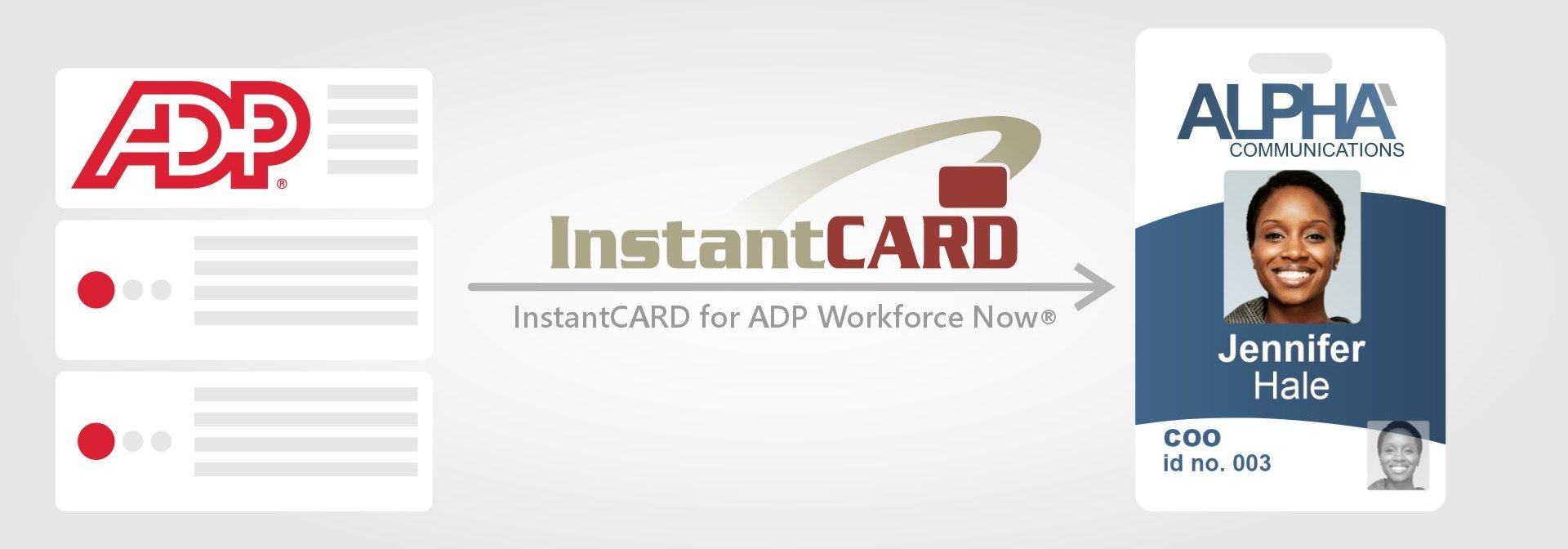 InstantCard for ADP Workforce Now