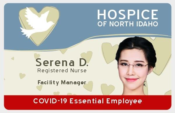 COVID 19 ID Card