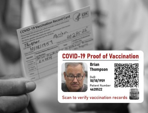 The Requirement for Covid-19 Vaccination ID Cards
